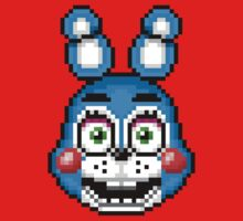 Five Nights at Freddy's 2 - Pixel art - Toy Bonnie One Piece - Short Sleeve