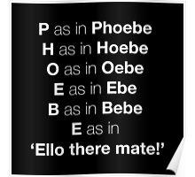 Pheobe Poster