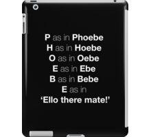 Pheobe iPad Case/Skin