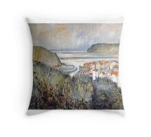 My Heart Misses a Beat, Staithes Throw Pillow
