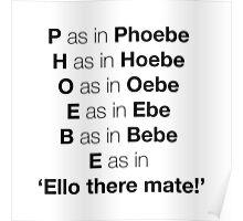 Phoebe Poster