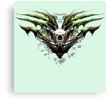 Dragon-Borne (strong as oak) Canvas Print