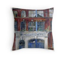 Wharncliffe Works, Kelham Island, Sheffield Throw Pillow