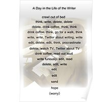 A Day in the Life of the Writer Poster