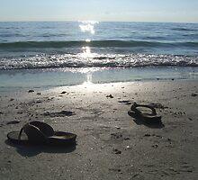Beach Sunset by HollyERAU