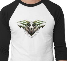 Dragon-Borne (strong as oak) Men's Baseball ¾ T-Shirt