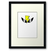 Air Zonk (PC Denjin Punkic Cyborg) Framed Print