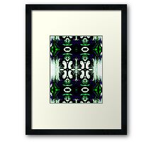 Harmounious Intersection Framed Print
