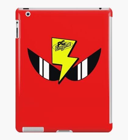 Air Zonk (PC Denjin Punkic Cyborg) - PC Engine Logo iPad Case/Skin