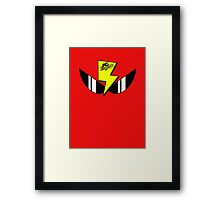 Air Zonk (PC Denjin Punkic Cyborg) - PC Engine Logo Framed Print