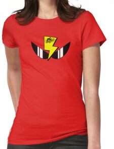 Air Zonk (PC Denjin Punkic Cyborg) - PC Engine Logo Womens Fitted T-Shirt