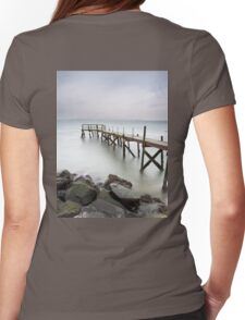 The Pier  Womens Fitted T-Shirt
