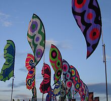 Glastonbury Flags by jonnyspew