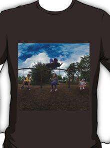 3  Kids on a Swing T-Shirt