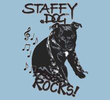 Staffy Dog Rocks! Kids Clothes