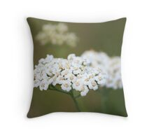 Clouds on a Stem Throw Pillow