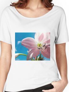 Flower Close-up Women's Relaxed Fit T-Shirt