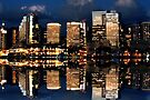 Honolulu Reflection by DJ Florek
