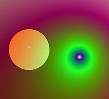 Vivid Planet by Objowl