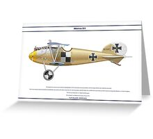 Albatros D.V Jasta 10 - 4 Greeting Card