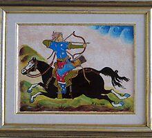 Turkish Mounted Archer by keci