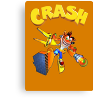 Crash Bandicoot - Wrath Of Cortex  Canvas Print