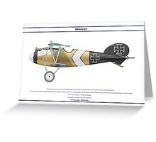 Albatros D.V Jasta 12 - 2 Greeting Card
