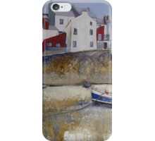 Blue House and Lady J iPhone Case/Skin