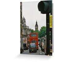 Quintessential London Greeting Card