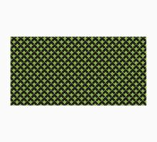 geometric abstract pattern green black background Kids Clothes
