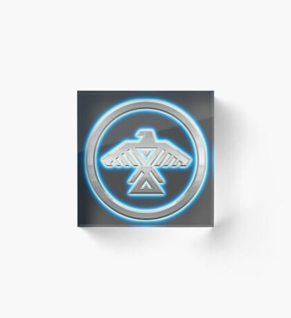 Chippewa Nation Emblem Acrylic Block