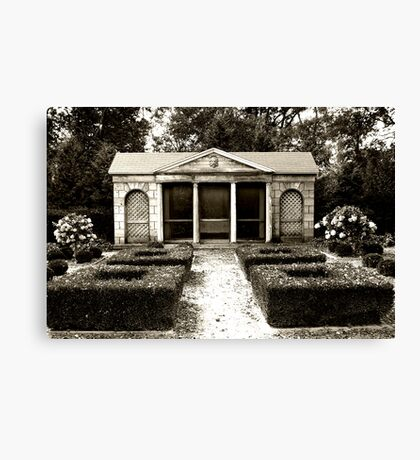 The Old Garden House Canvas Print
