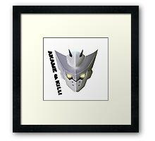 Akame ga Kill! - Incursio (Bulat / Tatsumi) Framed Print