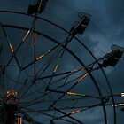 wheel in the clouds by Danielle  Kay