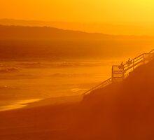 End of Day 13th Beach by Joe Mortelliti