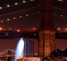 Under the Brooklyn Bridge by ScottL