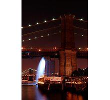 Under the Brooklyn Bridge Photographic Print
