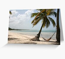 Quintessential Tropical Vacation Greeting Card