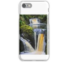 "the wonderful ""pecca falls"" yorkshire dales iPhone Case/Skin"