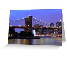 New York City at Dusk Greeting Card