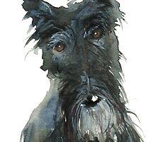 Barney The Scottie Dog by archyscottie