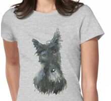Barney The Scottie Dog Womens Fitted T-Shirt