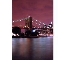 Night filled New York Photographic Print