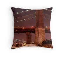 Brooklyn Promonade View Throw Pillow