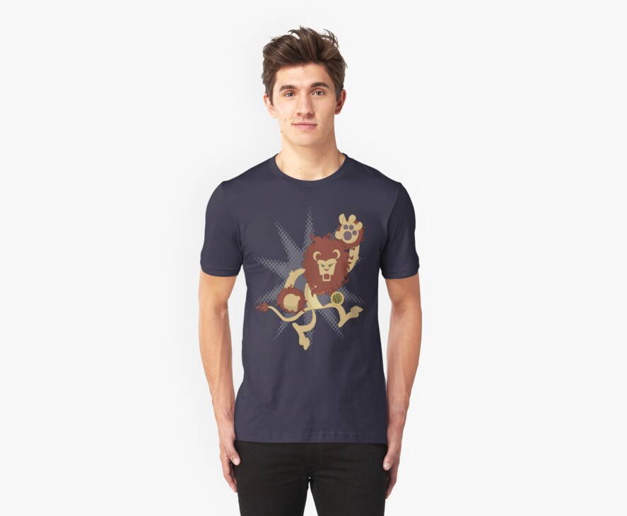 The Cowardly Lion by monkeyminion