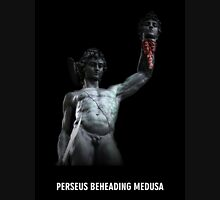 Perseus Beheading Medusa Womens Fitted T-Shirt