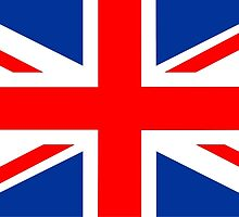flag of United Kingdom by tony4urban