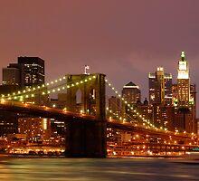 Evening Sky New York by ScottL