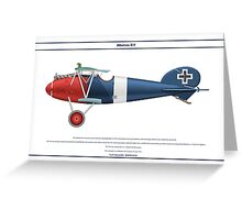 Albatros D.V Jasta 15 - 2 Greeting Card