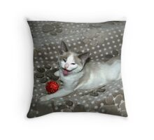 Xmas Helper Throw Pillow